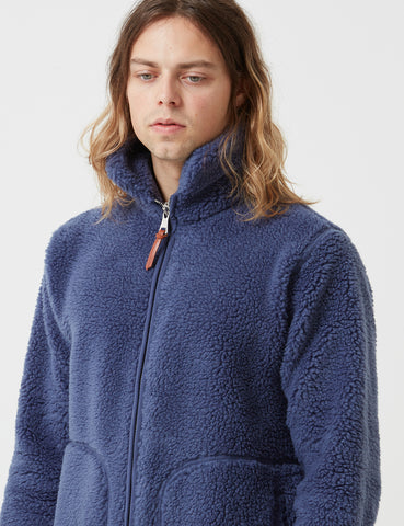 Albam Fleece Zip Jacket - Indigo Blue - Article