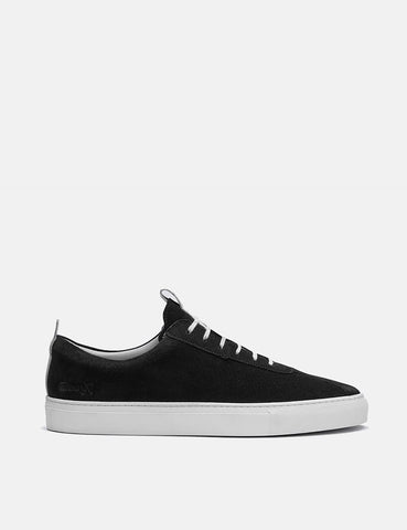 Grenson Sneakers No.1 (Suede) - Black