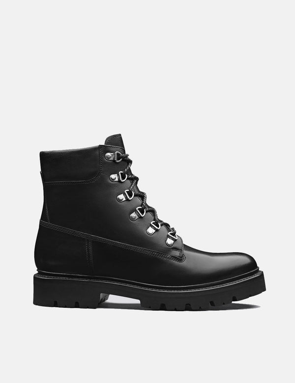 Grenson Rutherford Boot (Leather) - Black
