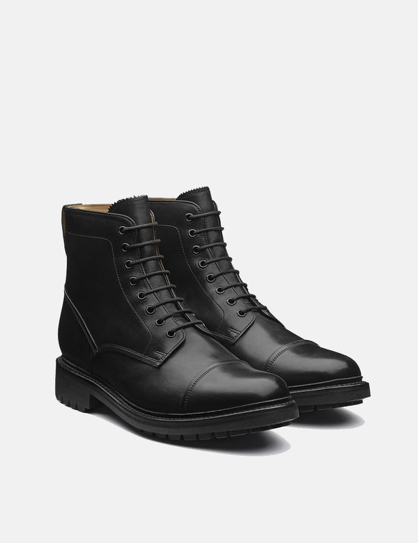 Grenson Joseph Boots (Leather) - Black