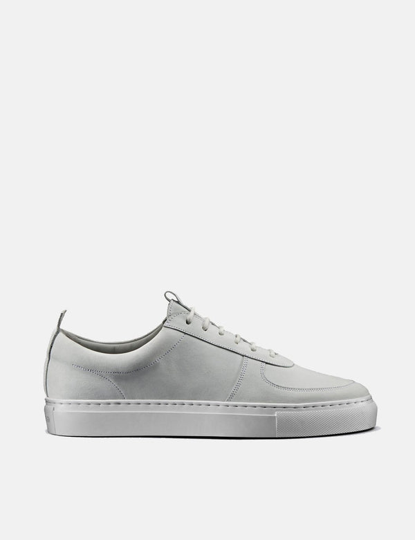 Grenson Sneakers No.22 (Nubuck) - White