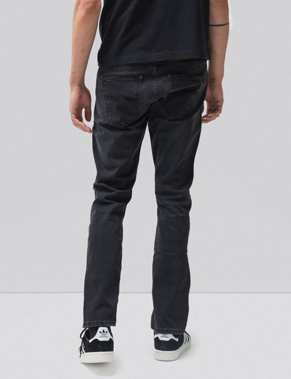 Nudie Dude Dan Jeans (Regular) - Dusty Black
