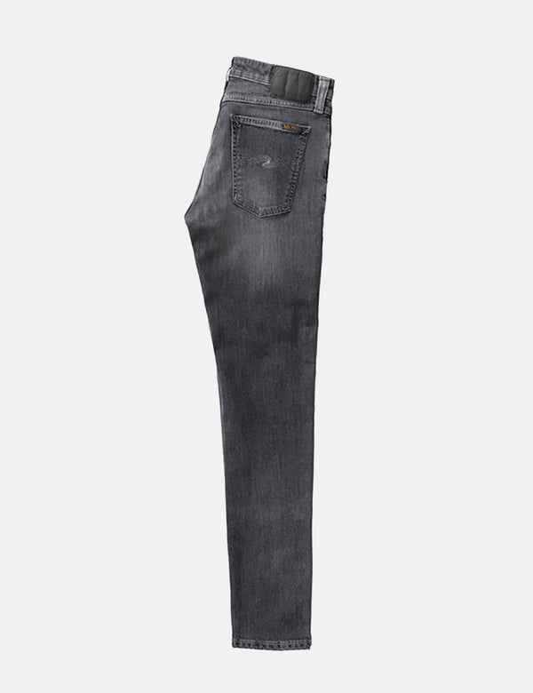 Nudie Skinny Lin Jeans (Super Tight) - Shimmering Power Grey
