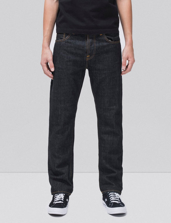 Nudie Sleepy Sixteen Jeans (Relaxed Straight) - Rinsed