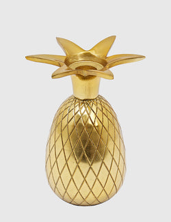 Liv Interior Pineapple Candlestick - Gold