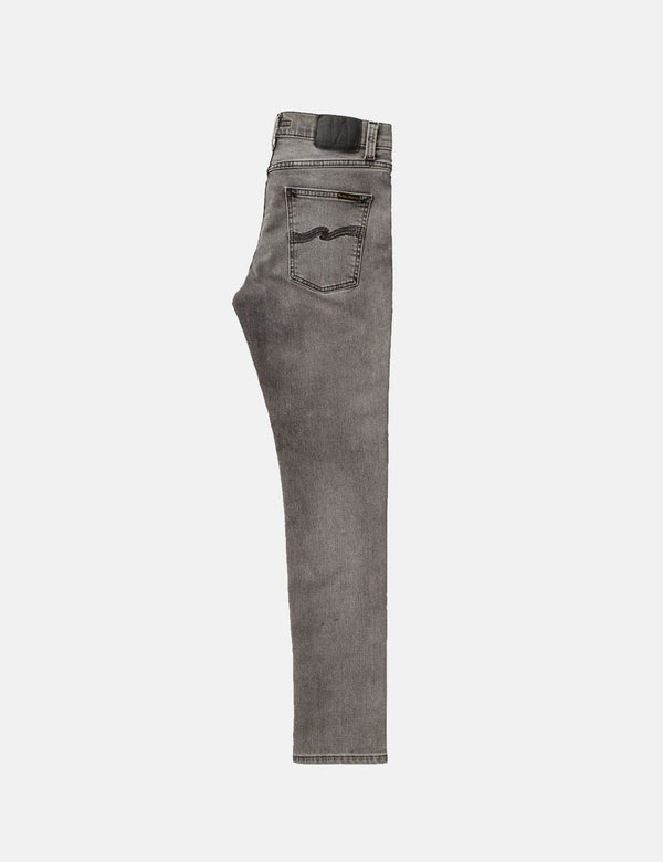 Nudie Lean Dean Jeans (Slim Tapered) - Vintage Grey