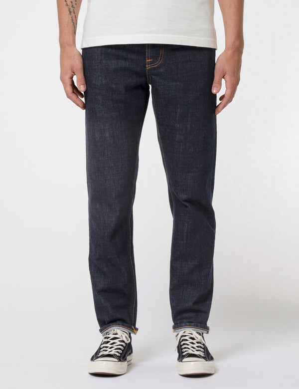 Nudie Steady Eddie II Jeans - Rinsed Indigo