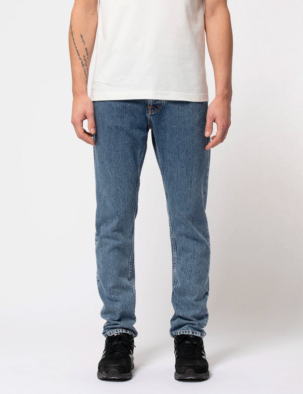 Nudie Steady Eddie II Jeans - Friendly Blue