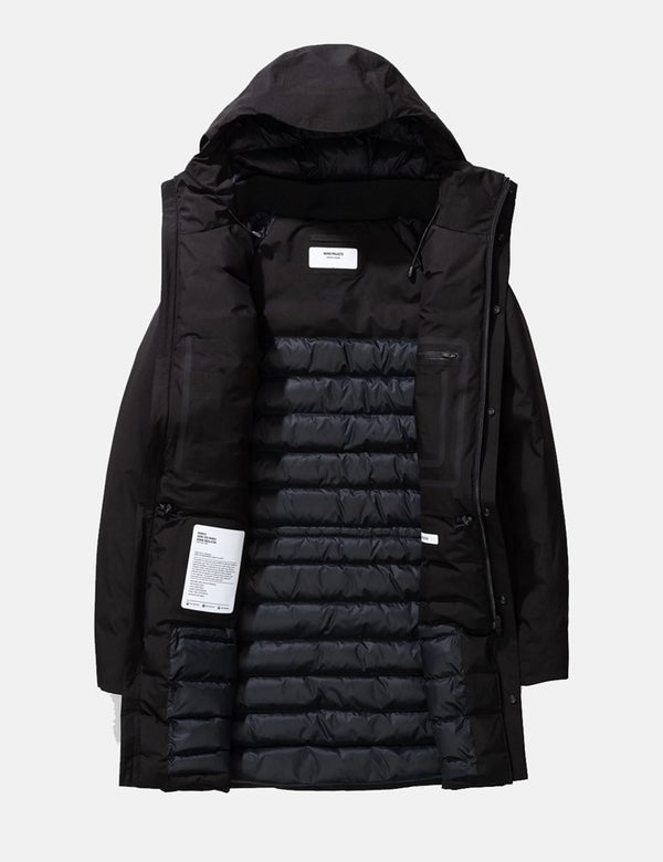 Norse Projects Rokkvi 5.0 Gore Tex Jacket - Black
