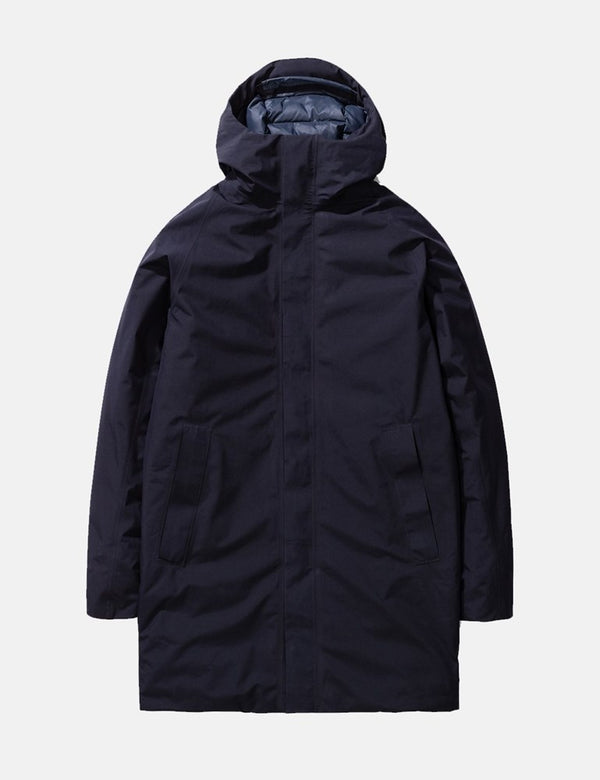 Norse Projects Rokkvi 5.0 Gore Tex Jacket - Dark Navy Blue