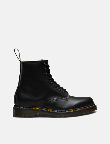 Dr Martens 1460 Boots (11822600) - Black Smooth/Yellow Stitching