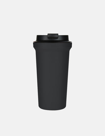 Rivers Wallmug Bearl Solid Coffee Cup - Black