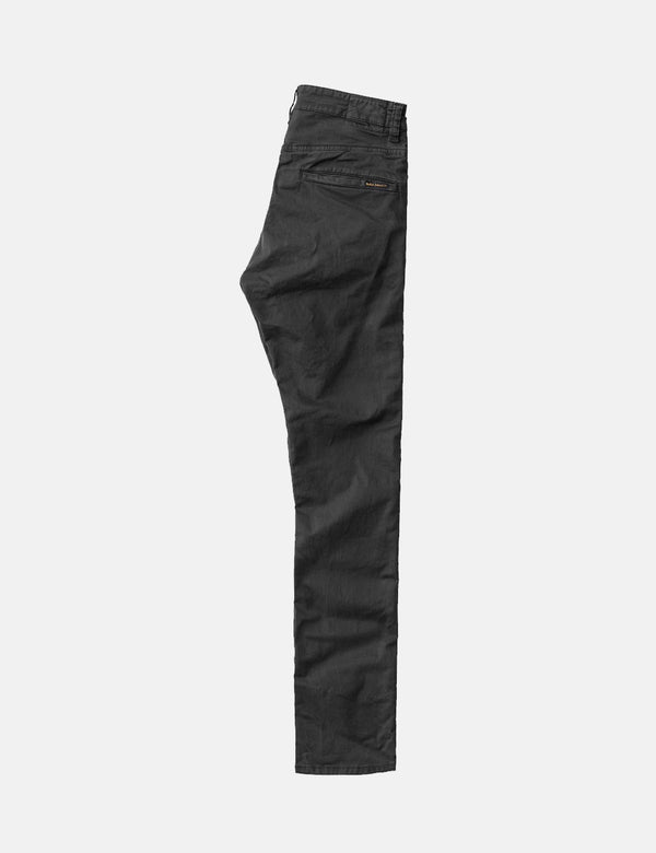 Nudie Adam Chinos (Slim Fit) - Black