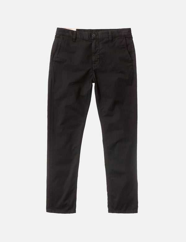 Nudie Easy Alvin Pant (Slim Tapered) - Black