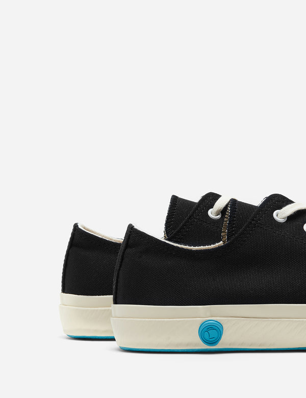 Shoes Like Pottery 01JP Low Trainers (Canvas) - Black