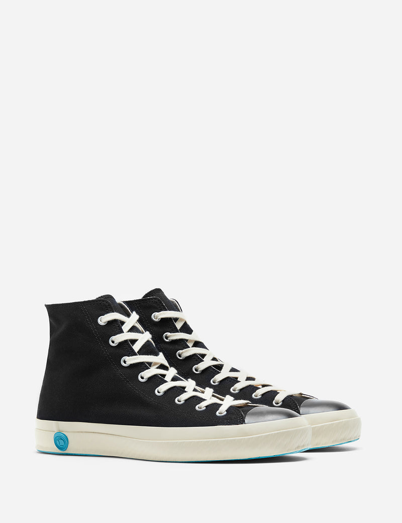 Shoes Like Pottery 01JP High Trainers (Canvas) - Black