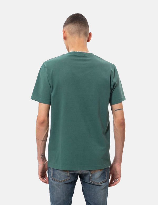 Nudie Kurt Worker T-Shirt - Kattegat Green