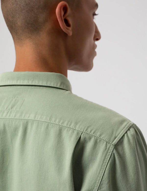 Nudie Pigment Dyed Shirt - Pale Green