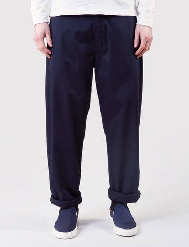 Universal Works Twill Bakers Pant - Navy Blue