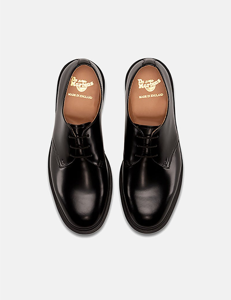 Dr Martens Steed (Made in England) - Black Polished Smooth