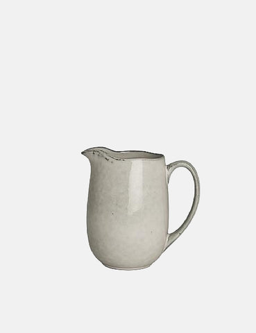 Broste Copenhagen Nordic Sand Milk Jug (Large) - Grey - Article