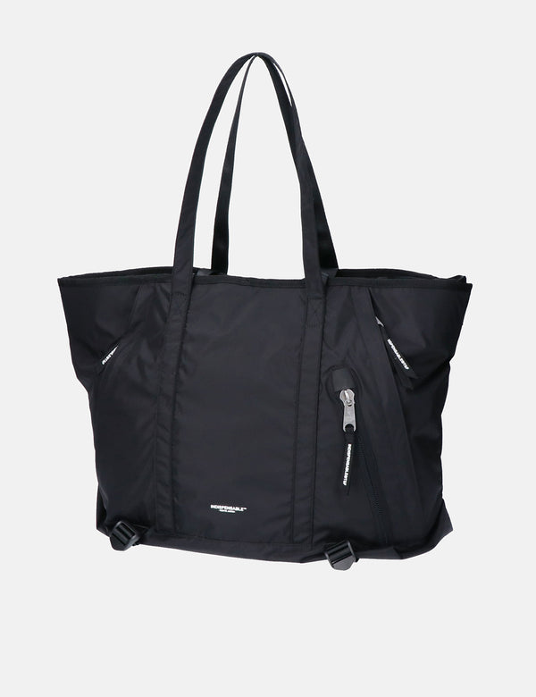 Indispensable 2-Way Tote Bag (ECONYL) - Black