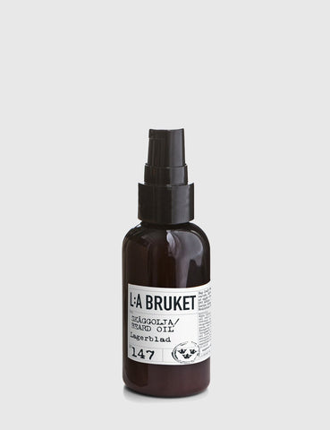 L:A Bruket Beard Oil (60ml) - Laurel Leaf