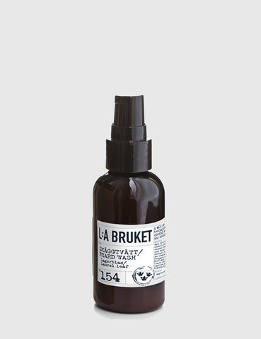 L:A Bruket Beard Wash (200ml) - Laurel Leaf