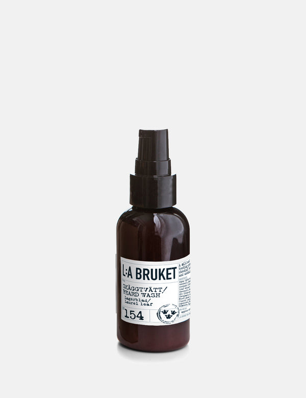 L:A Bruket Beard Wash (60ml) - Laurel Leaf