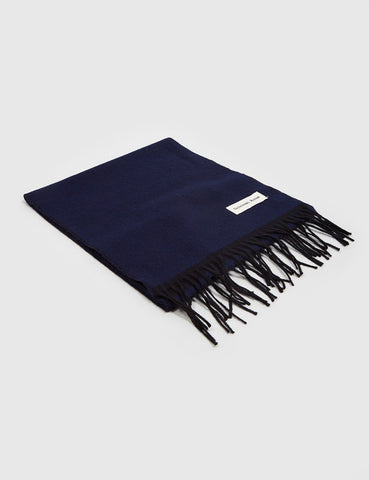 Universal Works Double Sided Scarf - Navy/Black