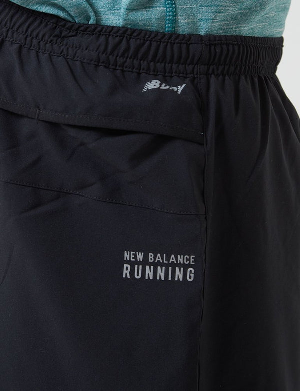 New Balance Impact Run Short (7 Pouces) - Noir