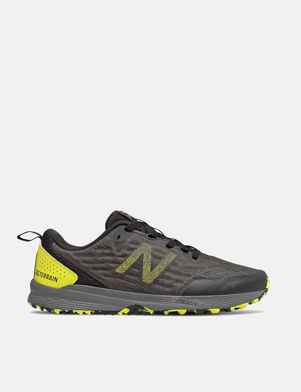 New Balance Nitrel v3 Trail Running Shoes (MTNTRCS3) - Black/Yellow
