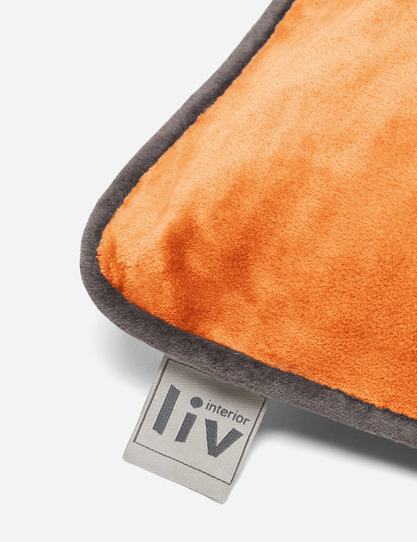 Liv Interior Velvet Cushion (45cm) - Sierra