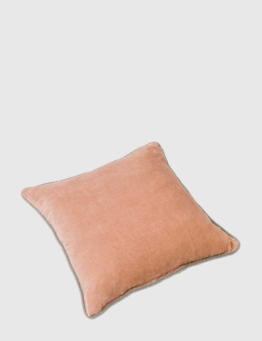 Liv Interior Velvet Cushion (45cm) - Coral