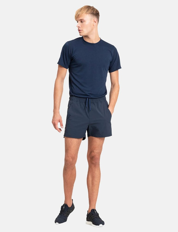 Short de Course Norse Projects Winn - Bleu Marine Foncé