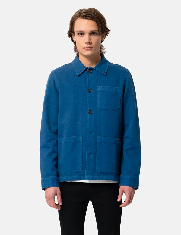 Nudie Barney Worker Jacket - Blue