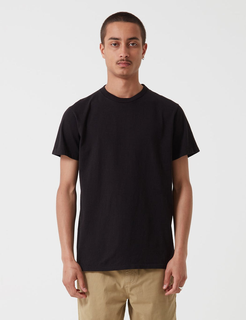 Velva Sheen Classic Tubular USA Made T-shirt - Washed Black