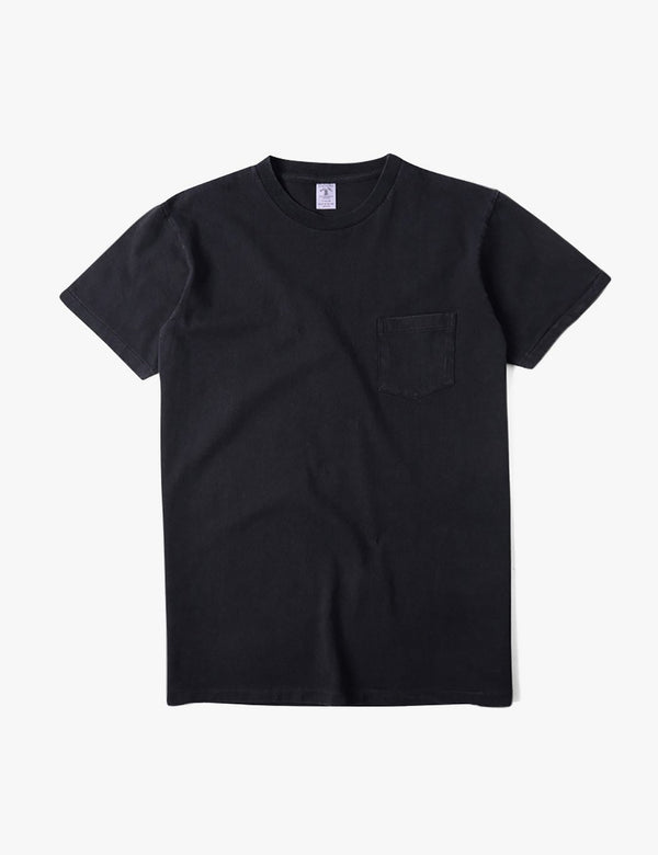 Velva Sheen Classic USA Made T-shirt (Pocket) - Black
