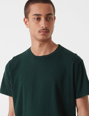 Velva Sheen Regular Rolled USA Made T-shirt - Green Marl