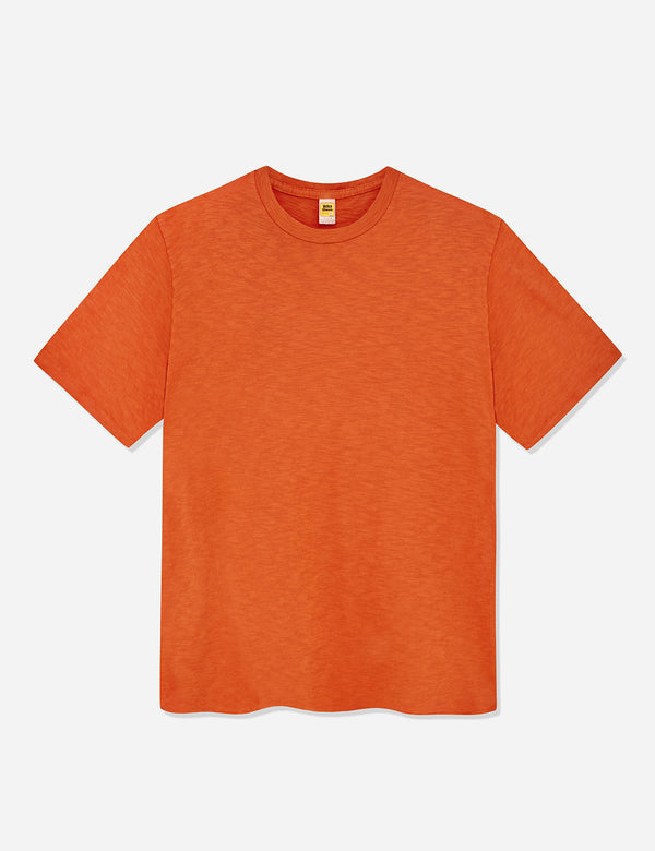 Velva Sheen Regular Rolled USA Made T-shirt - Orange