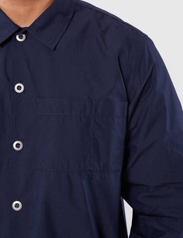 Universal Works Uniform Shirt - Navy Blue