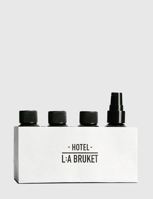L:A Bruket Travel Kit (4 x 60ml) - Bergamot & Coriander