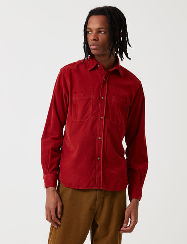 Bleu De Paname 2 Pocket Shirt - Cayenne Red - Article
