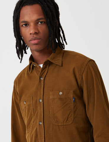 Bleu De Paname 2 Pocket Shirt - Savannah Brown - Article