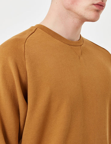 Universal Works Easy Sweatshirt - Camel