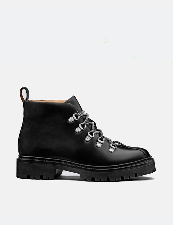 Damen Grenson Bridget Boot (Colorado Leder) - Schwarz