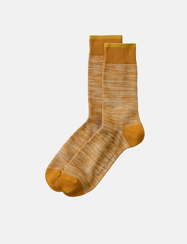 Chaussettes Nudie Rasmusson Multi Yarn - Cinnamon