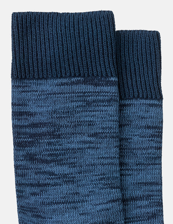 Chaussettes Nudie Rasmusson Multi Yarn - Blueberry