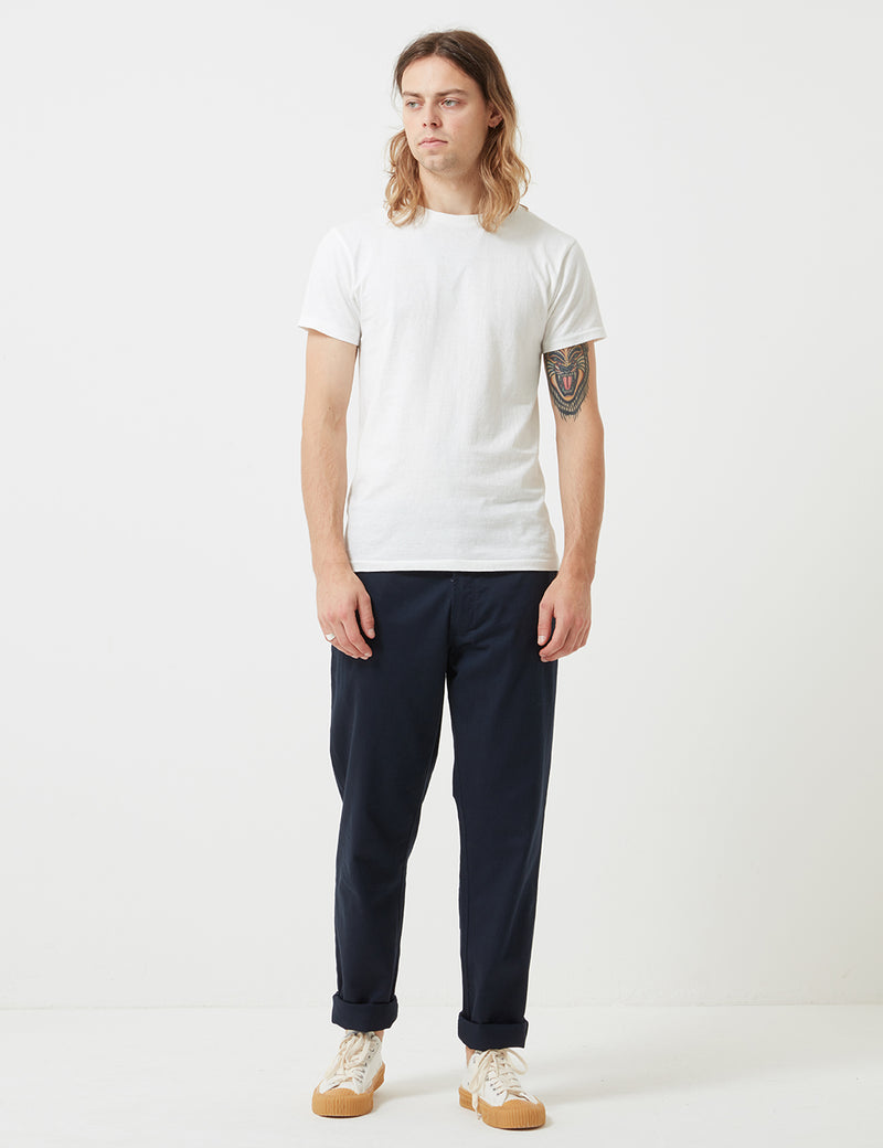 Universal Works Aston Trousers - Navy Blue
