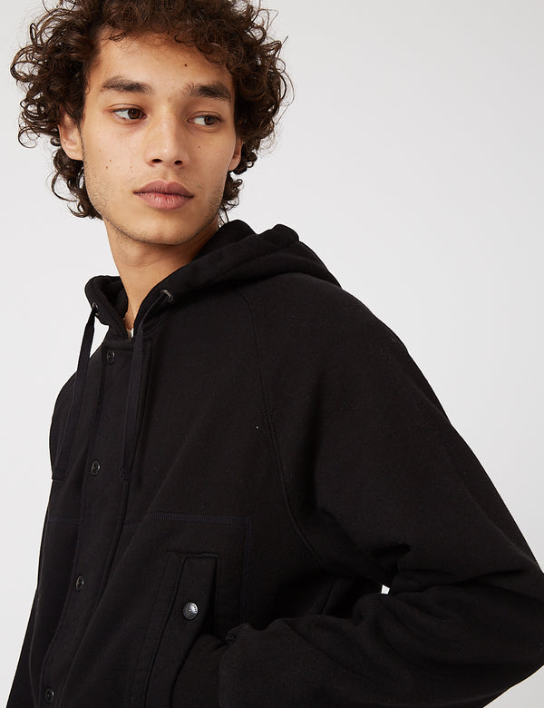 Eastlogue AF Hooded Sweat Jumper - Black